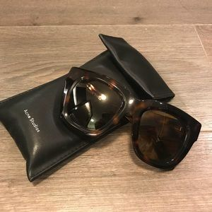 Acne Studios Library Tortoise Sunglasses